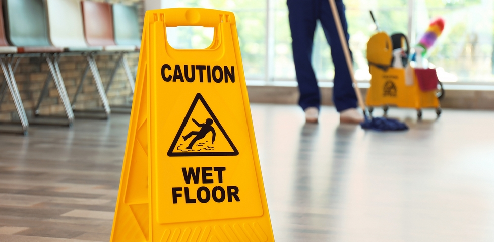 One of the office spring cleaning tips is to clean your floors.
