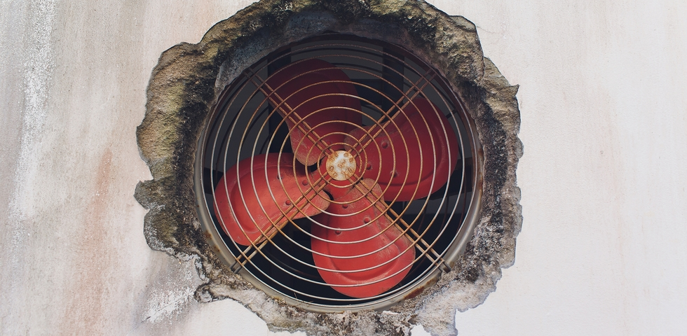 Air vents are a magnet for dust and need extra attention in post-construction cleaning.