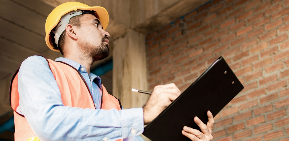 Do a final inspection of the construction site to make sure every area is clean.